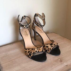 Coach cheetah heels
